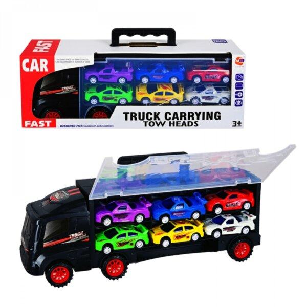 Камион - Автовоз с 6 коли