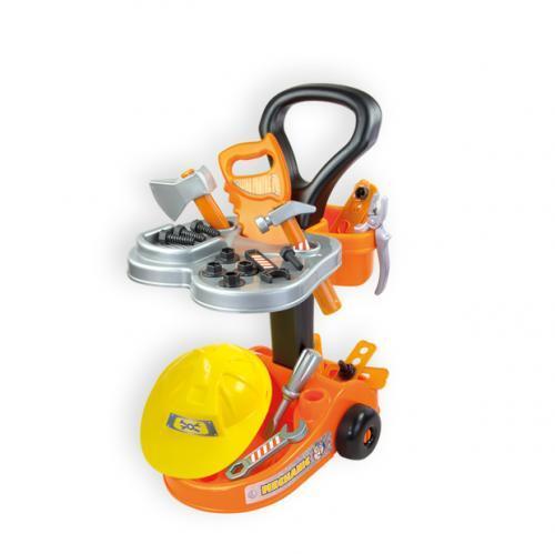 Строителна количка с инструменти - 10316