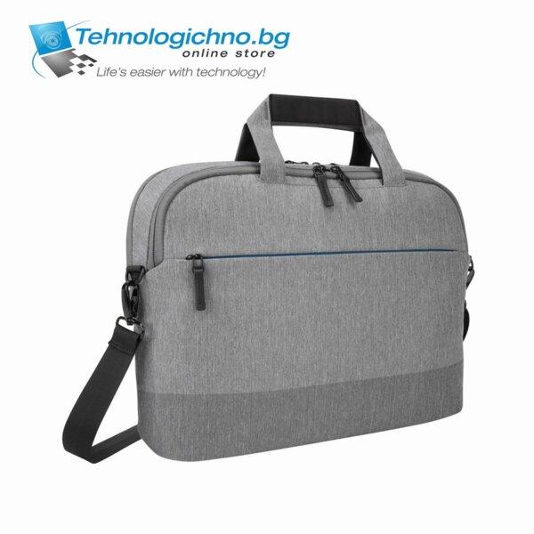 """Чанта 15.6"""" сива"""