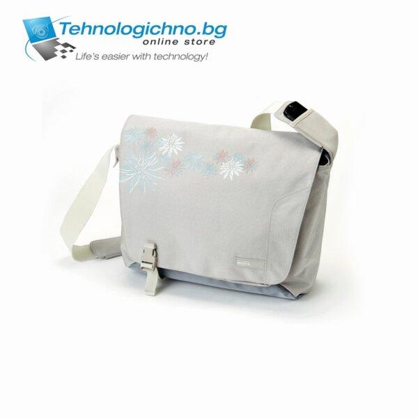 Чанта DICOTA N25888P сива