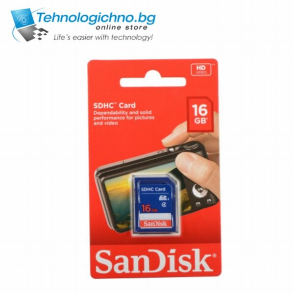 16GB Sandisk Class 4