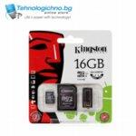 16GB microSD Class 10 + Adapter Kingston