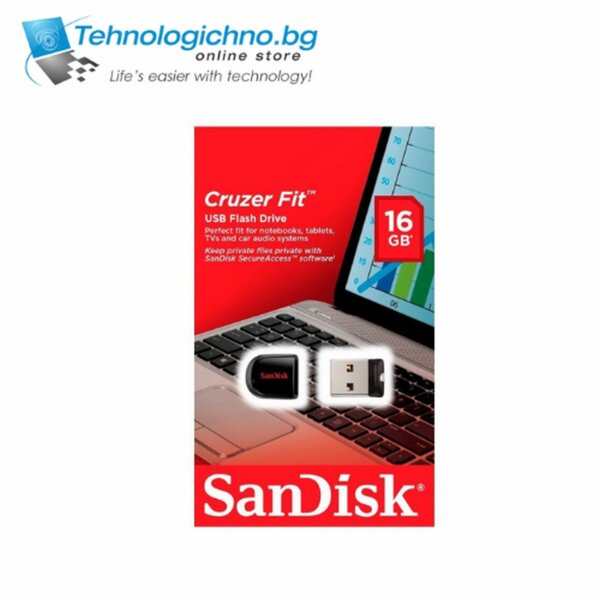 16GB Sandisk Cruz Fit
