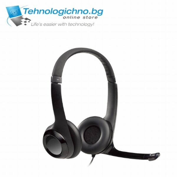 Слушалки Logitech H390 Headset
