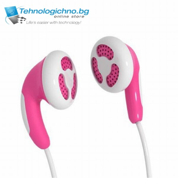 Слушалки тапи MAXELL Rose Color Buds