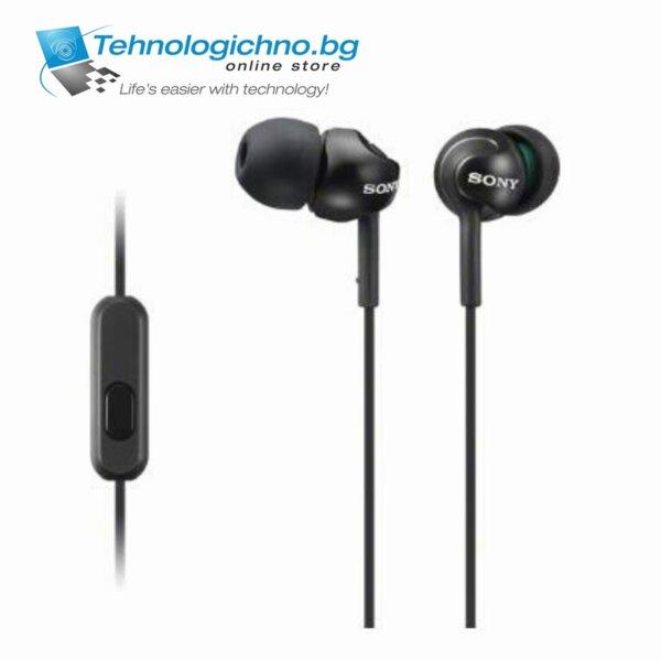 Sony Headset MDR-EX110AP Black