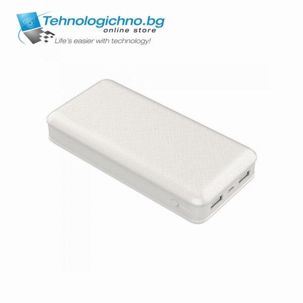Външна батерия V-TAC 20 000ma/h Бял