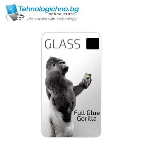 Full Glue Gorilla Стъклен протектор Samsung A7 2018