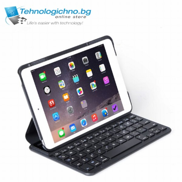 Калъф за таблет с клав. iPad Mini 1/2/3