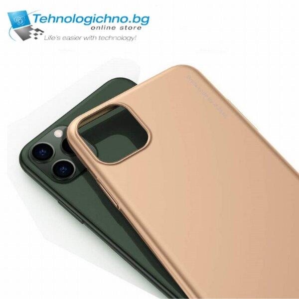 Калъф силикон X-LEVEL iPhone 11 Pro Max Gold