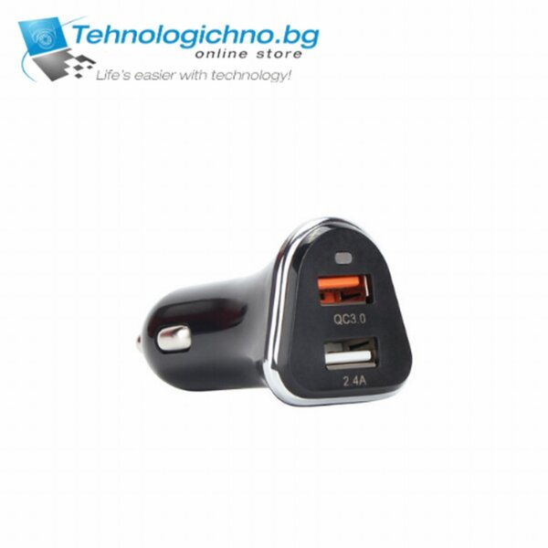 Зарядно за кола VCOM QC 3.0 Car Charger M078 30W