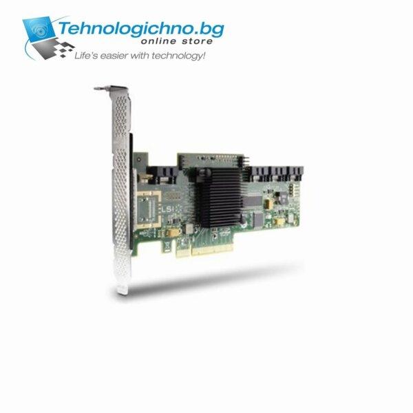 PCI-E HP LSI 9212-4i SAS 6GB 4-port RAID Card