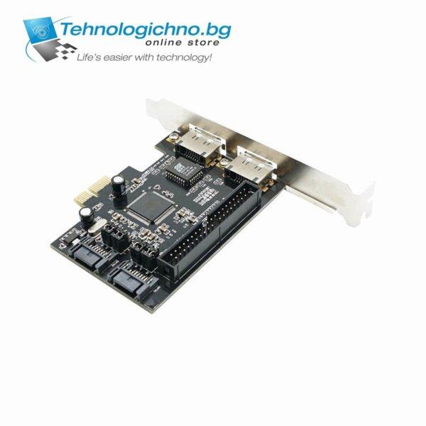 Card PCI to SATA + IDE