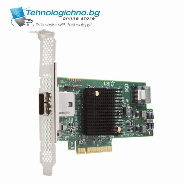 PCI-E HP LSI 9217-4i4e 8port SAS 6Gb/s RAID Card