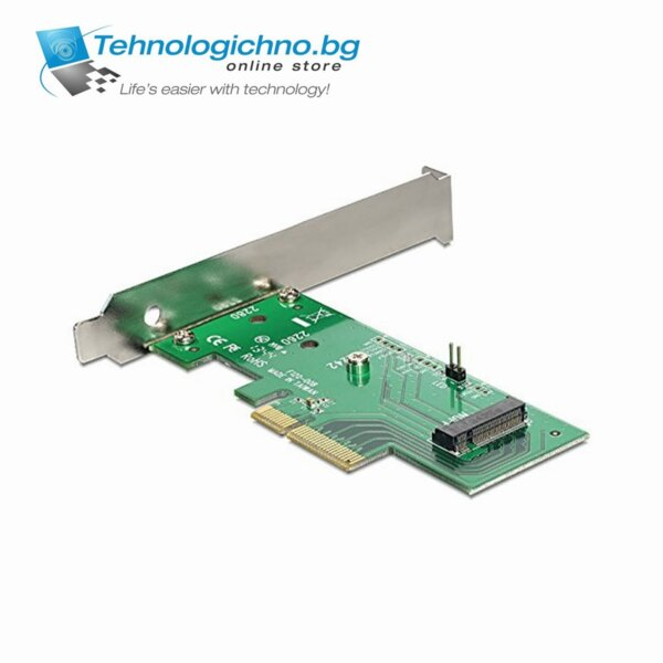 Delock PCIe x4 to M.2 NGFF