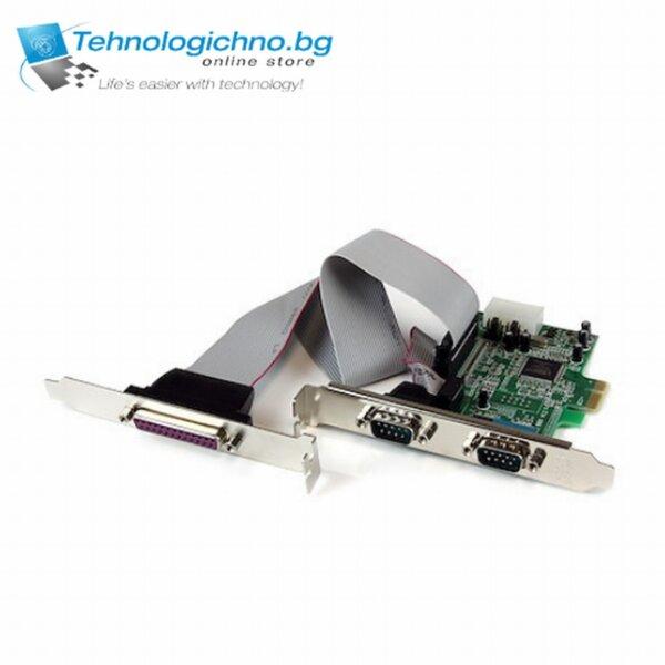 PCI-E to 2x Serial COM + Parallel port