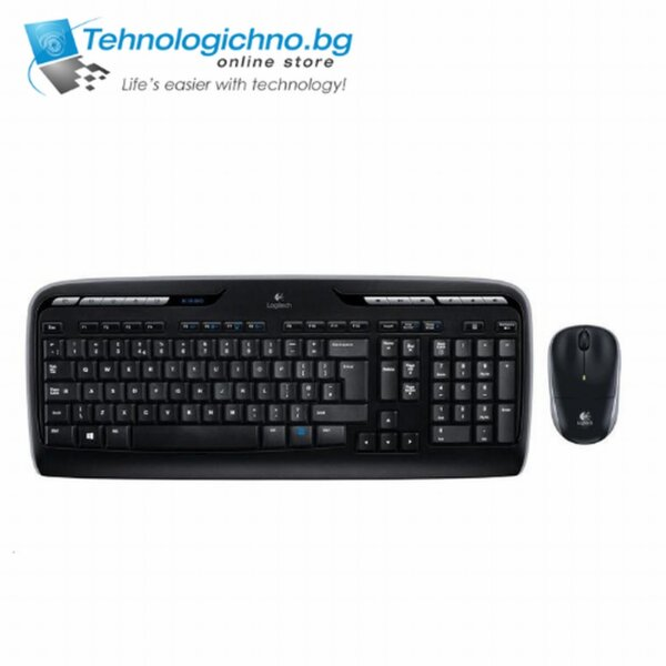 Клавиатура Logitech MK330 WL Desktop