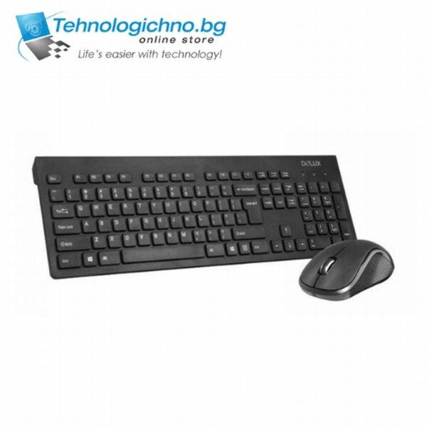 Клавиатура Delux KA180G+M391GX USB