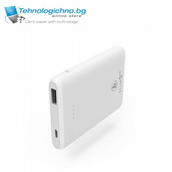 Hama Power Bank Power pack Бял 5000mAh