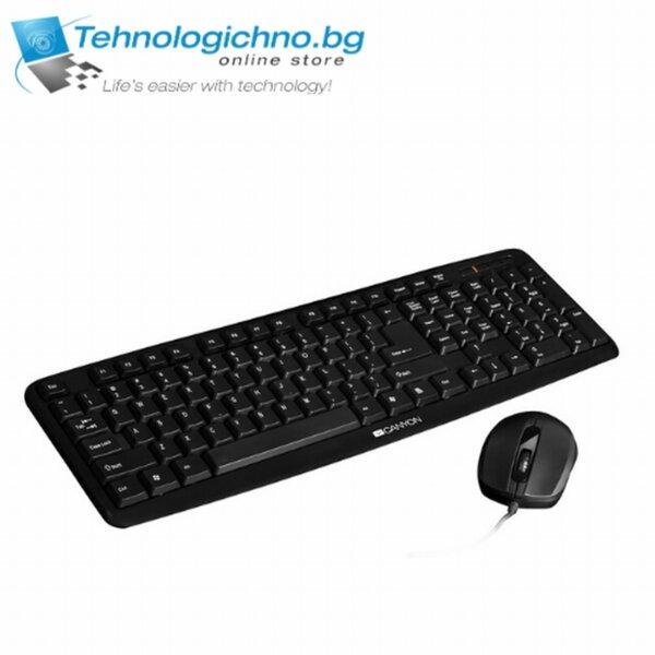 Клавиатура Canyon CNE-CSET1-B USB