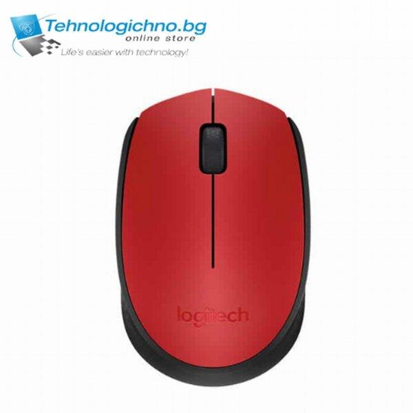 Logitech M171-R RED Безжична мишка