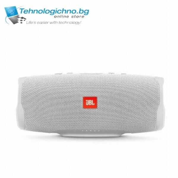 Bluetooth колонка JBL CHARGE 4 - бяла