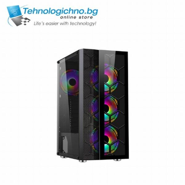 Makki Case ATX Gaming - F05 RGB 3F