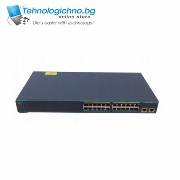 Суич Cisco Catalyst WS-C2960-24TT-L V09