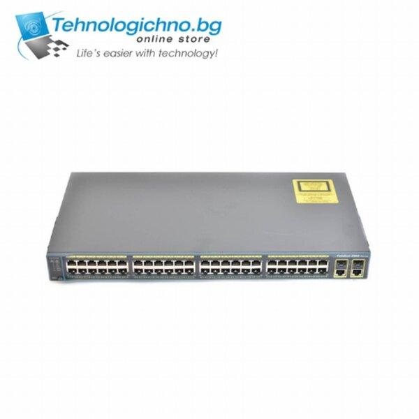 Суич Cisco Catalyst WS-C2960G-48TC-L V02