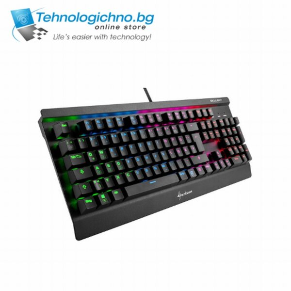Геймърска клавиатура Sharkoon Skiller SGK3 АУТ