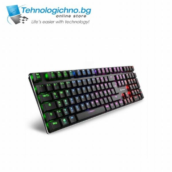 Геймърска клавиатура Sharkoon PureWriter RGB