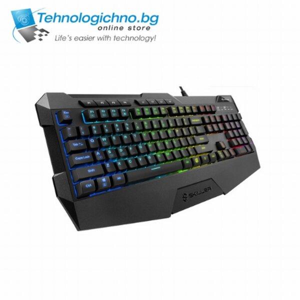 Геймърска клавиатура Sharkoon Skiller SGK4 ВБЗ