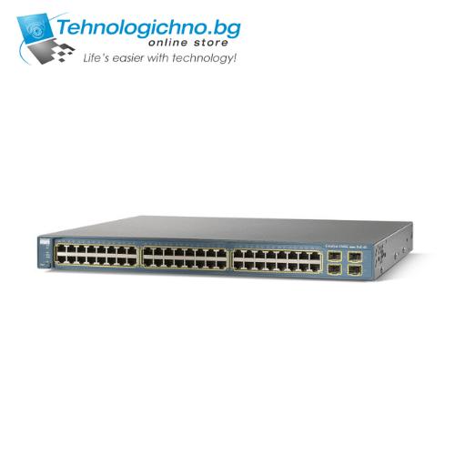Суич Cisco Catalyst WS-C3560-48PS-S V06