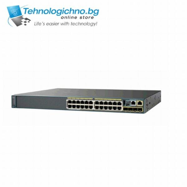 Суич Cisco Catalyst WS-C2960-24TC-L V11