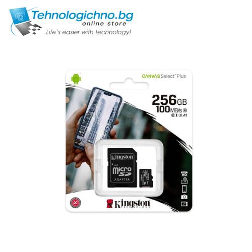 256GB Kingston MicroSDXC Class 10 UHS-I