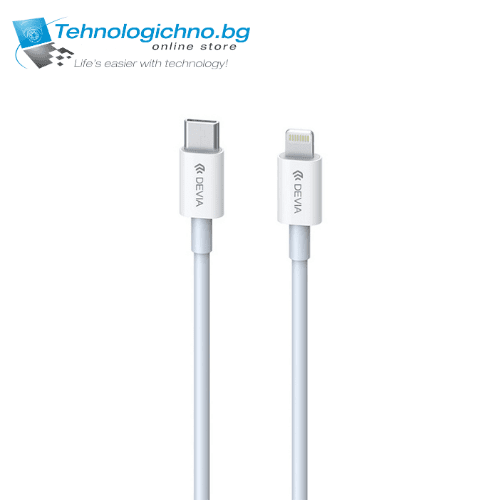 Type C to Lightning PD Cable 1M 3A White DEVIA
