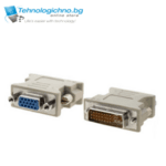 VCom адаптер DVI M / VGA HD - 15F - C301