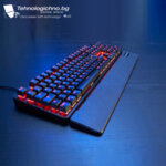 Геймърска клавиатура THE G-LAB KEYZ Rubidium ВБЗ