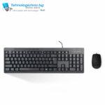 Клавиатура Delux K6300U + M330U Black