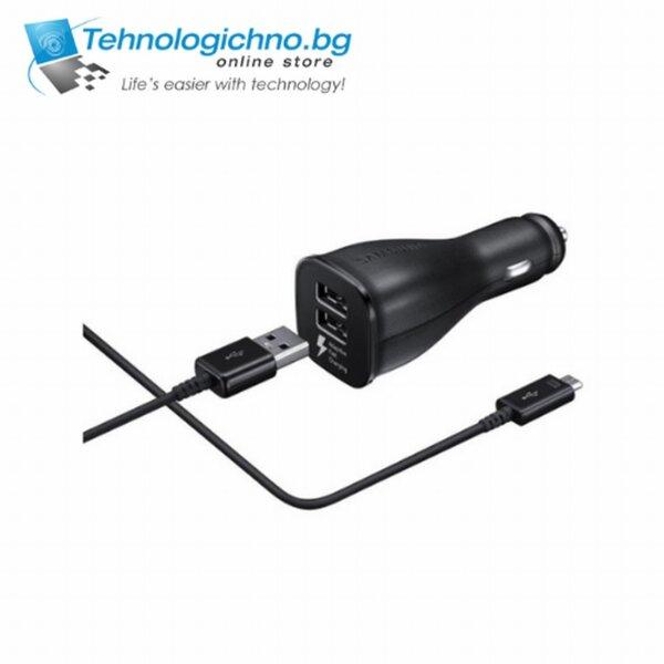 Зарядно за кола SAMSUNG 12V EP-LN920 2xUSB