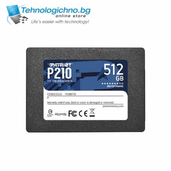 "512GB SSD Patriot Burst 2.5"" SATA 560-540MB/s"