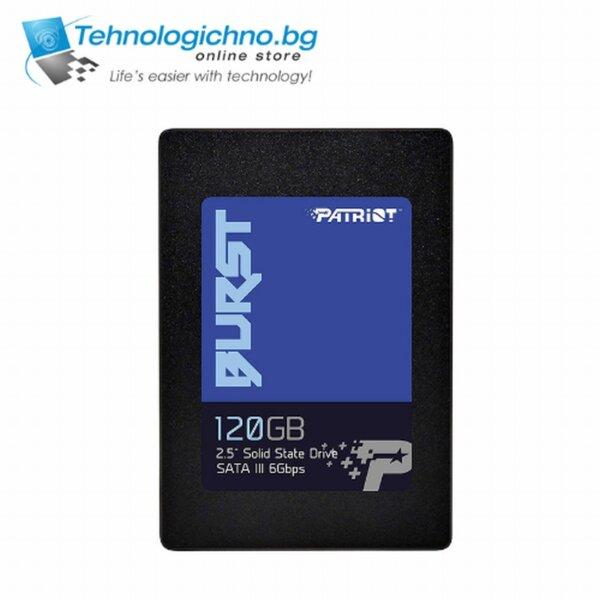 "120GB SSD Patriot Burst 2.5"" SATA 560-540MB/s"