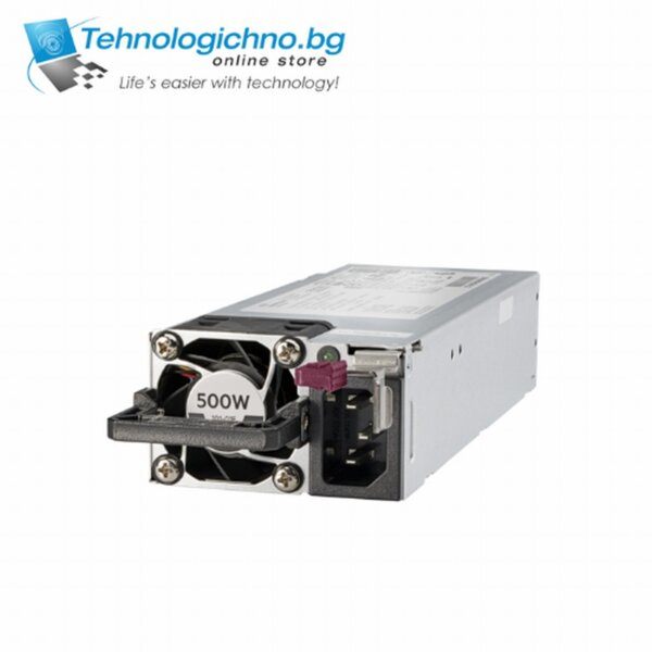 HPE 500W FS Plat Ht Plg LH Pwr Sply Kit