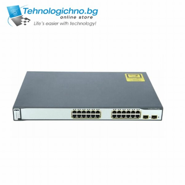 Суич Cisco Catalyst 3750G-24TS-S1U