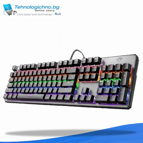 Геймърска клавиатура Trust GXT 865 ВБЗ