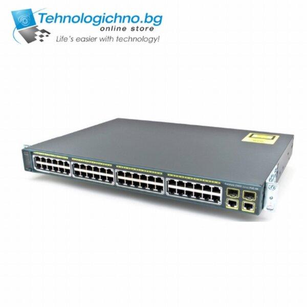 Суич Cisco Catalyst WS-C2960-48PST-L V05