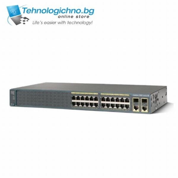 Суич Cisco Catalyst WS-C2960-24PC-L V07