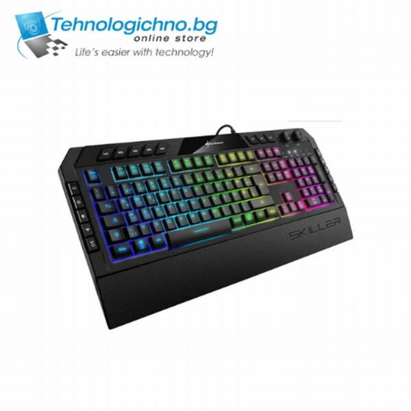 Геймърска клавиатура Sharkoon Skiller SGK5 ВБЗ