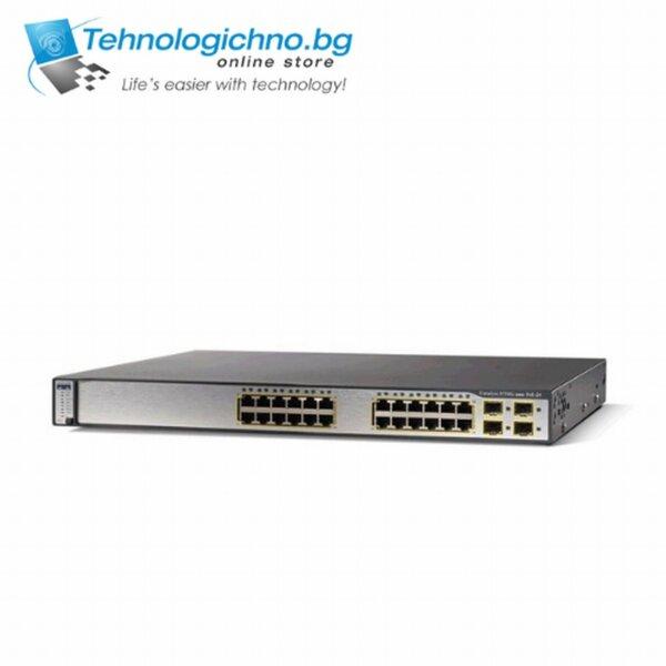 Суич Cisco Catalyst WS-C3750G-24TS-E