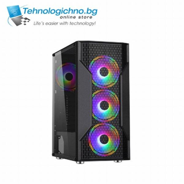 Makki case ATX Gaming - F09 RGB 3F Mesh